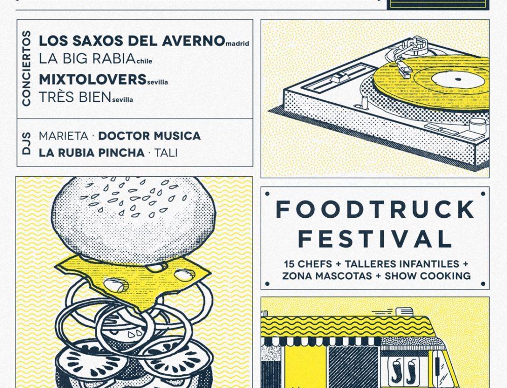 """Este domingo estaremos """"Programando los alimentos"""" en Callejeando Food Fest"""