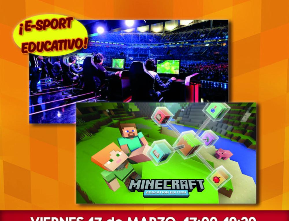 Éxito en el primer encuentro e-sport educativo basado en Minecraft