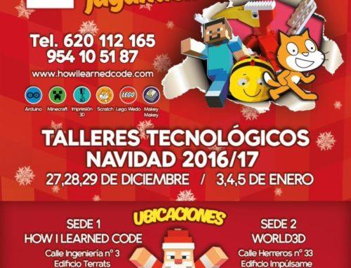 Talleres Tecnológicos de Navidad 2016/17