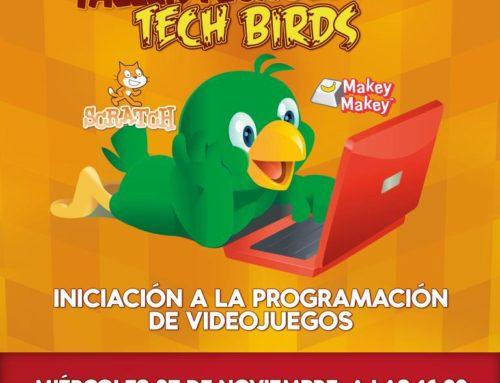 """«TECH BIRDS"""": Combatiendo la brecha digital en el Barrio de Los Pajaritos"""