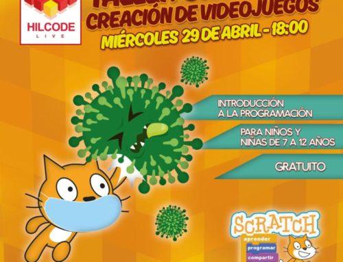 """Nuevo taller gratuito """"¡Scratch contra COVID-19!"""""""