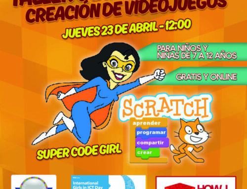 #SuperCodeGirl estará presente en el Día Internacional de las Niñas en las TIC