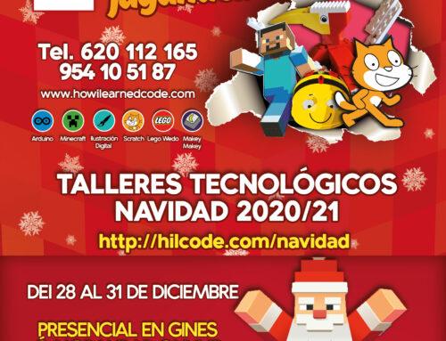 La ilusión vuelve en Navidad con nuestros Talleres Tecnológicos