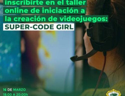 Taller gratuito Super Code Girl